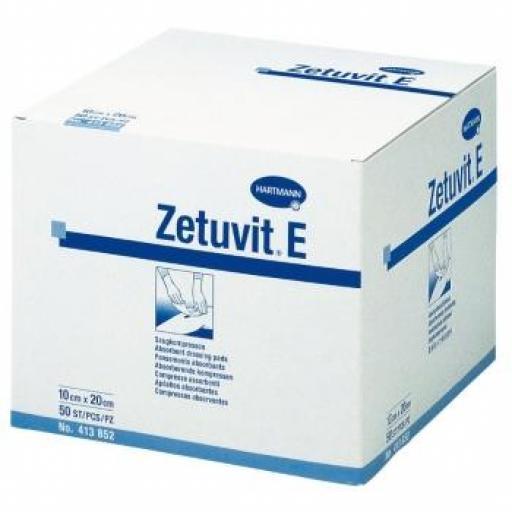 COMPRESA ABSORBENTE ZETUVIT E ESTÉRIL HARTMANN