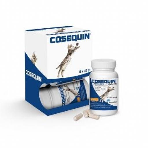 COSEQUIN ADVANCE Gatos 45 cápsulas
