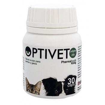 OPTIVET 30 Cápsulas Tratamiento y Prevención Transtornos Visuales