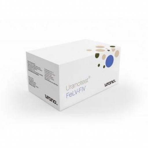 URANOTEST Detección Leucemia Felina FELV-FIV (5 y 10 test)