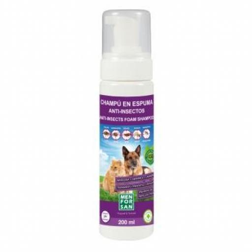 MENFORSAN Champú en Espuma Anti-Insectos 200 ml. [0]