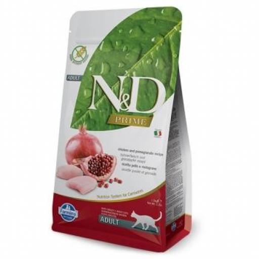 Farmina N&D Grain Free Prime Feline Adult Pollo & Granada