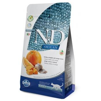 Farmina N&D Grain Free Calabaza Adult CAT OCEAN