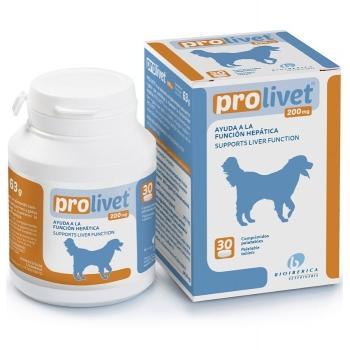 PROLIVET Función Hepático Perro y Gato Comprimidos