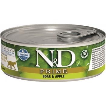 Farmina N&D Grain Free Prime Cat (12 latas x 80 grms.)