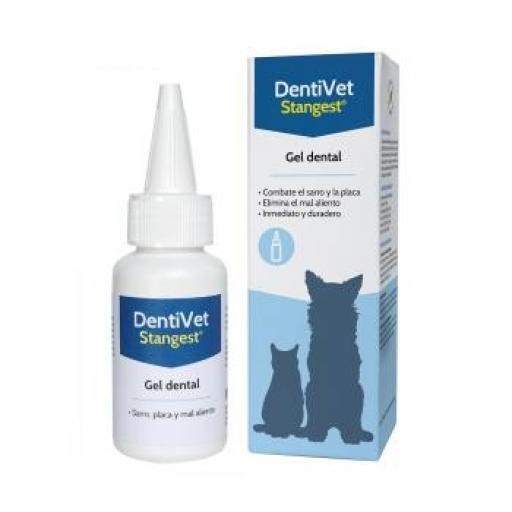 DENTIVET Gel Dental 50 ml. Perro y Gato