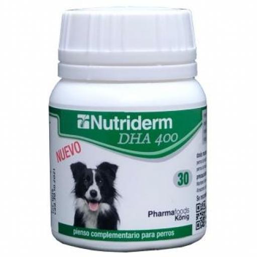 NUTRIDERM DHA 400 MG 30 Cápsulas