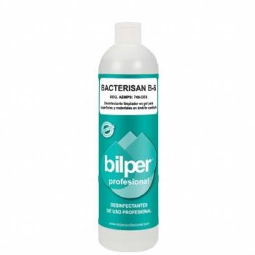 BACTERISAN B-6 Desinfectante Superficies en Gel BILPER