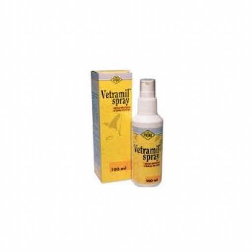 VETRAMIL Spray Cicatrizante piel y rozaduras