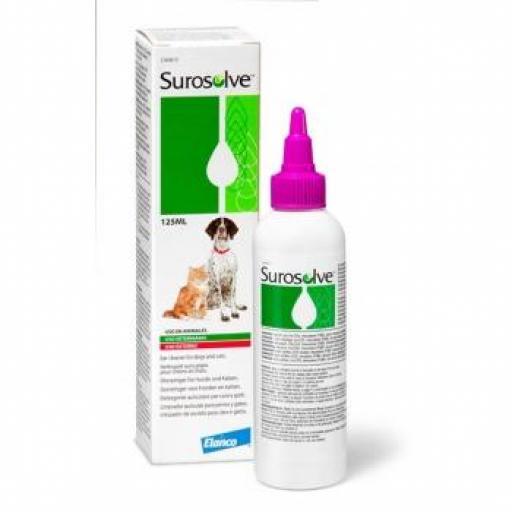 SUROSOLVE Limpiador Oídos Perro y Gato