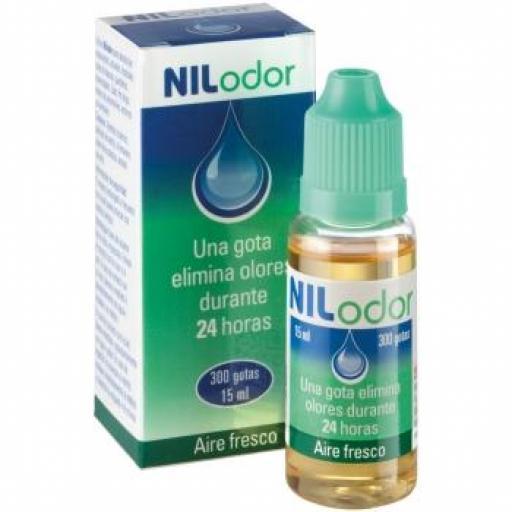 NILODOR Gotas 15 ml. Eliminador Malos Olores