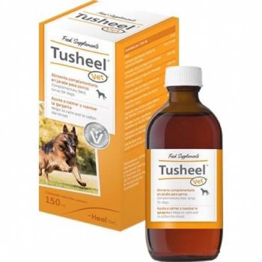 TUSHEEL Jarabe 150 ml. Heel Suaviza la Garganta Perros