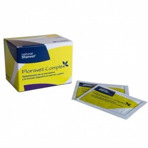 FLORAVET COMPLEX Regulador Intestinal (25 sobres x 2 grms.)