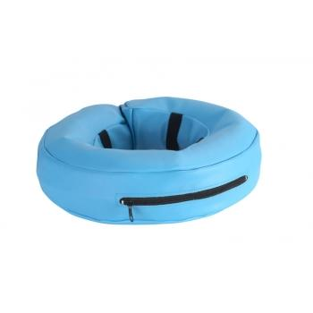 Collar Isabelino Inflable Azul Kruuse