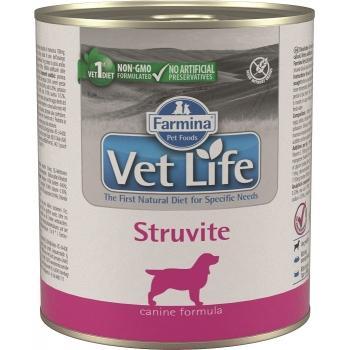 Farmina Vet Life Dog Struvite Lata 6 x 300 grms.