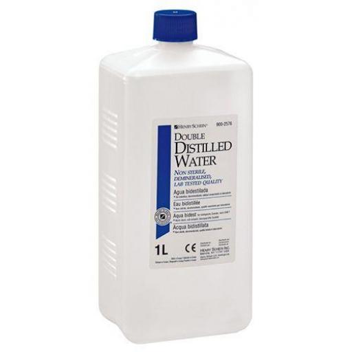 Agua Bidestilada No Esteril 1 litro
