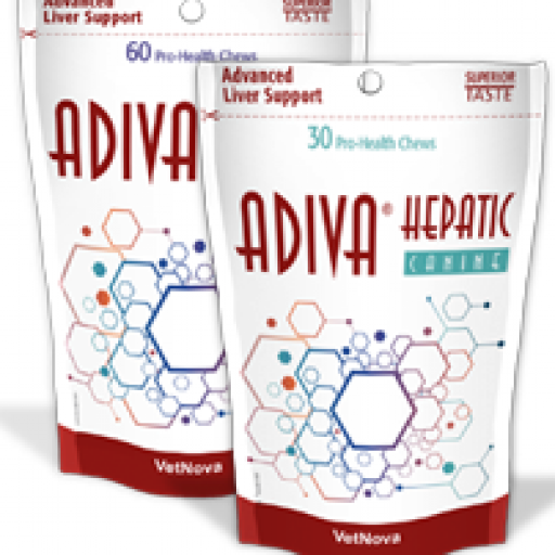 ADIVA HEPATIC Feline Vetnova 60 Chews