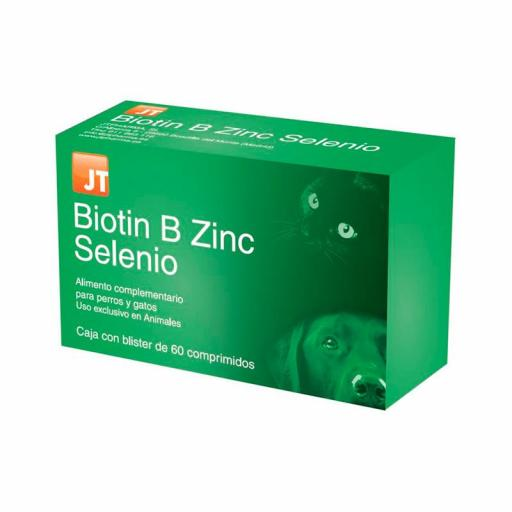 BIOTIN B ZINC SELENIO 60 Comprimidos