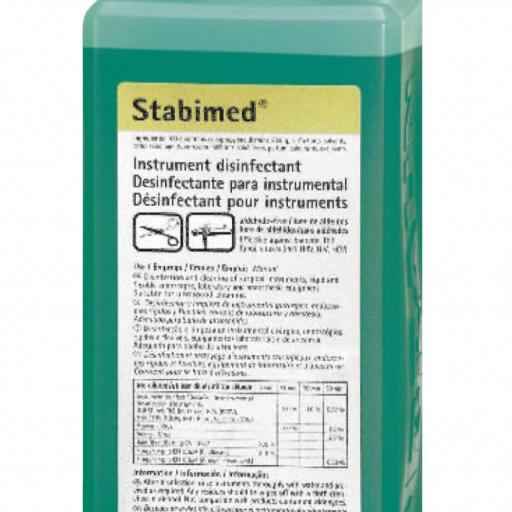 STABIMED FRESH Desinfectante Instrumental 1Litro BRAUN