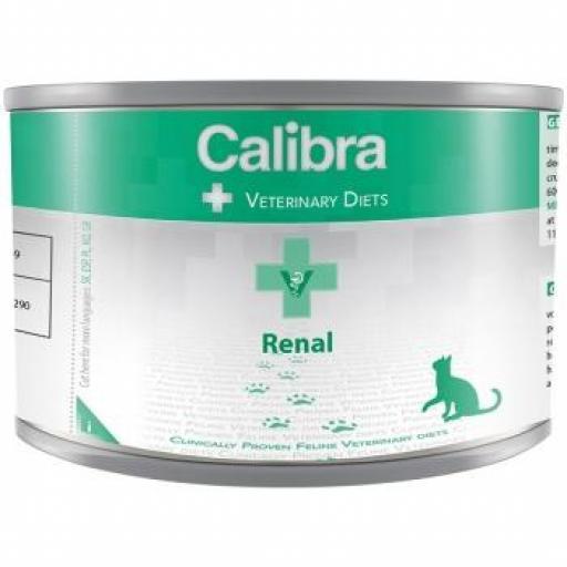 Calibra diet cat renal/Cardiac 6 Latax X 200 Grms.