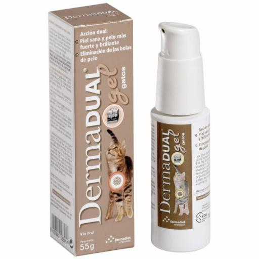 DERMADUAL Gel Gatos 50 ml.