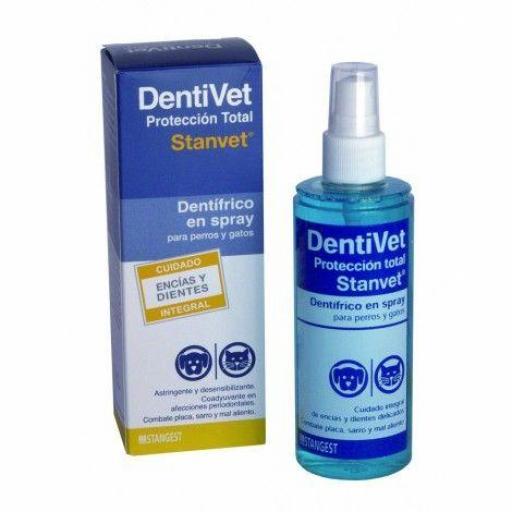 DENTIVET Dentrifico Spray Total 125 ml.