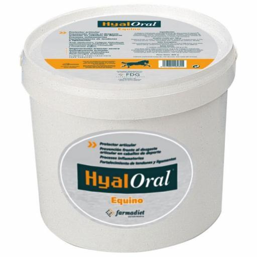 HYALORAL Condroprotector EQUINO 840 grms.