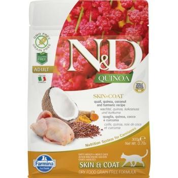 Farmina N&D Grain Free QUINOA CAT SKIN & COAT CODORNIZ