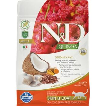 Farmina N&D Grain Free QUINOA CAT SKIN & COAT PESCADO