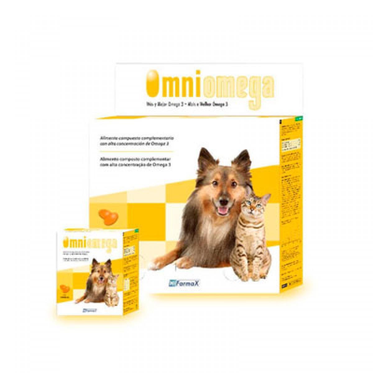 OMNIOMEGA Cápsulas Suplemento Nutricional Perros y Gatos