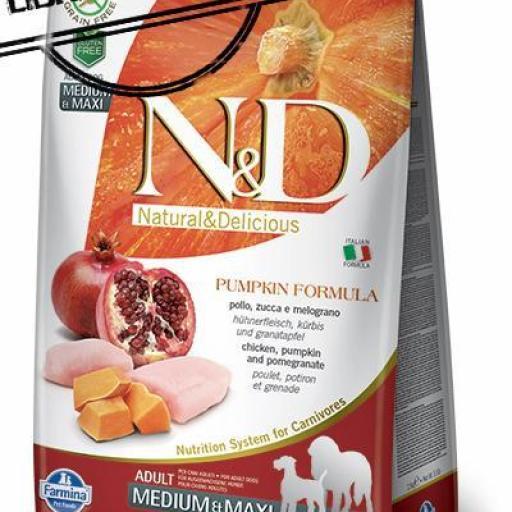 Farmina N&D Low Grain Pollo & Granada ADULT MINI 2.5 KGS. [0]