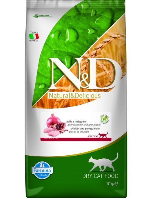 Farmina GRAIN FREE Pollo & Granada CAT Adult 10 Kgs.