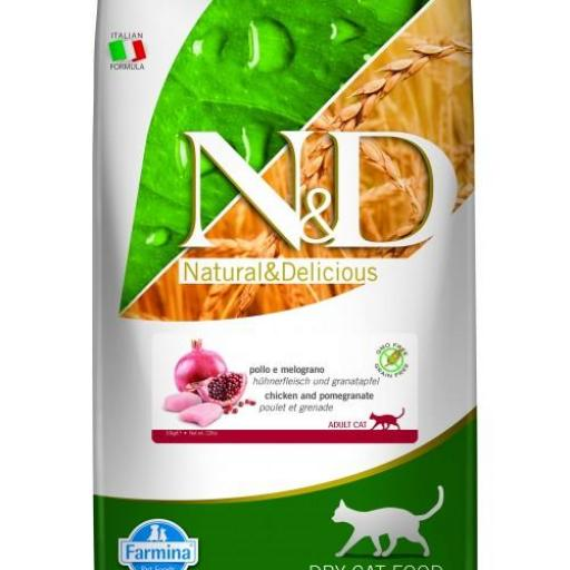 Farmina GRAIN FREE Pollo & Granada CAT Adult 10 Kgs.