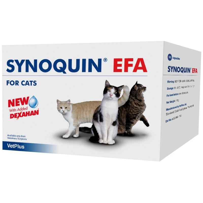 SYNOQUIN EFA GATO condroprotector 90 cápsulas