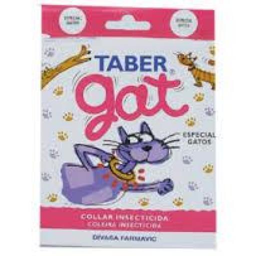 TABERGAT Collar Antiparasitario Gato
