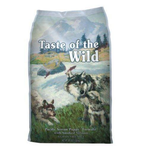 Taste of The Wild PUPPY Salmón Pacific Stream (Grain Free)