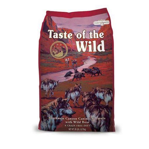 Taste Of The Wild Wild Southwest Canyon Jabalí (Grain Free)