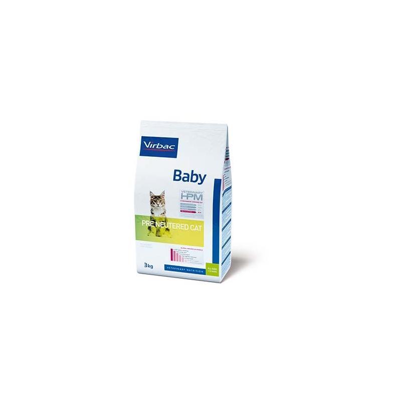 VETERINARY HPM CAT BABY PRE NEUTERED