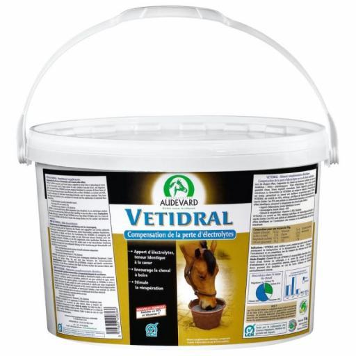 AUDEVARD Vetidral Solución & Powder (Electrolitos Caballos)