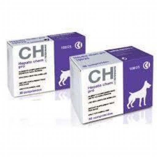 HEPATO CHEM PRO 100/25 Hepático y Dietético Perros