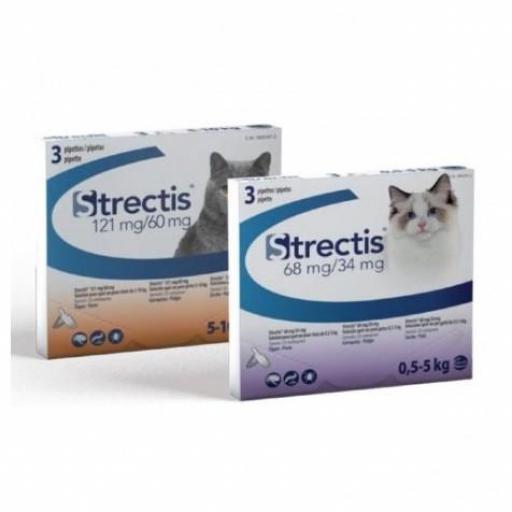 STRECTIS Gato Pipetas 3 unidades