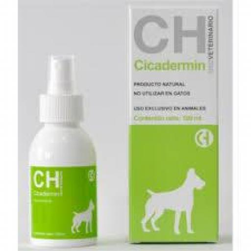 CICADERMIN 100 ml. Spray Cicatrizante Perros