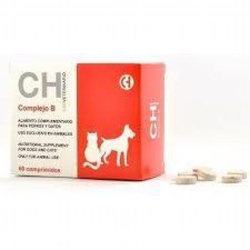 COMPLEJO B 60 Comprimidos Vitaminas Perro & Gato