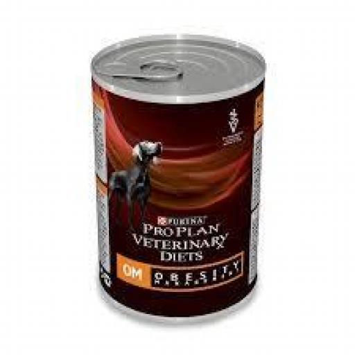 ProPlan Veterinary Diet Canine OM (Obesity) 12 x 400 grms.