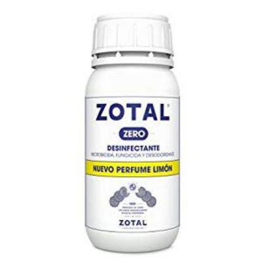ZOTAL ZERO LIMÓN 250 ml. (COVID-19)
