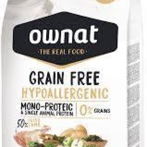 OWNAT Perro Grain Free Hypo Lamb Adult