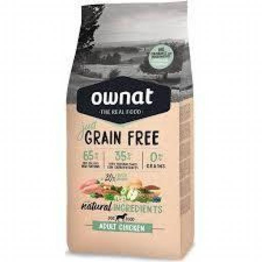 Ownat Just Grain Free Adulto Pollo