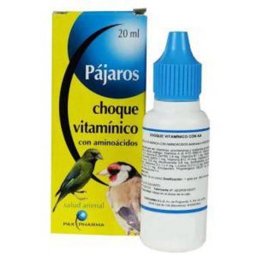 CHOQUE VITAMINICO AMINOACIDOS 20 ml