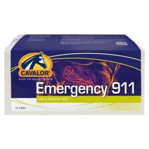 EMERGENCY 911 12 JERINGAS DE 12cc (Probiótico Digestivo Caballos)