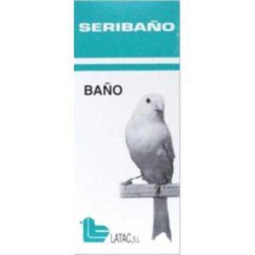 SERIBAÑO 150 ml. (Higiene y Acondicionamiento Plumaje Pájaros)